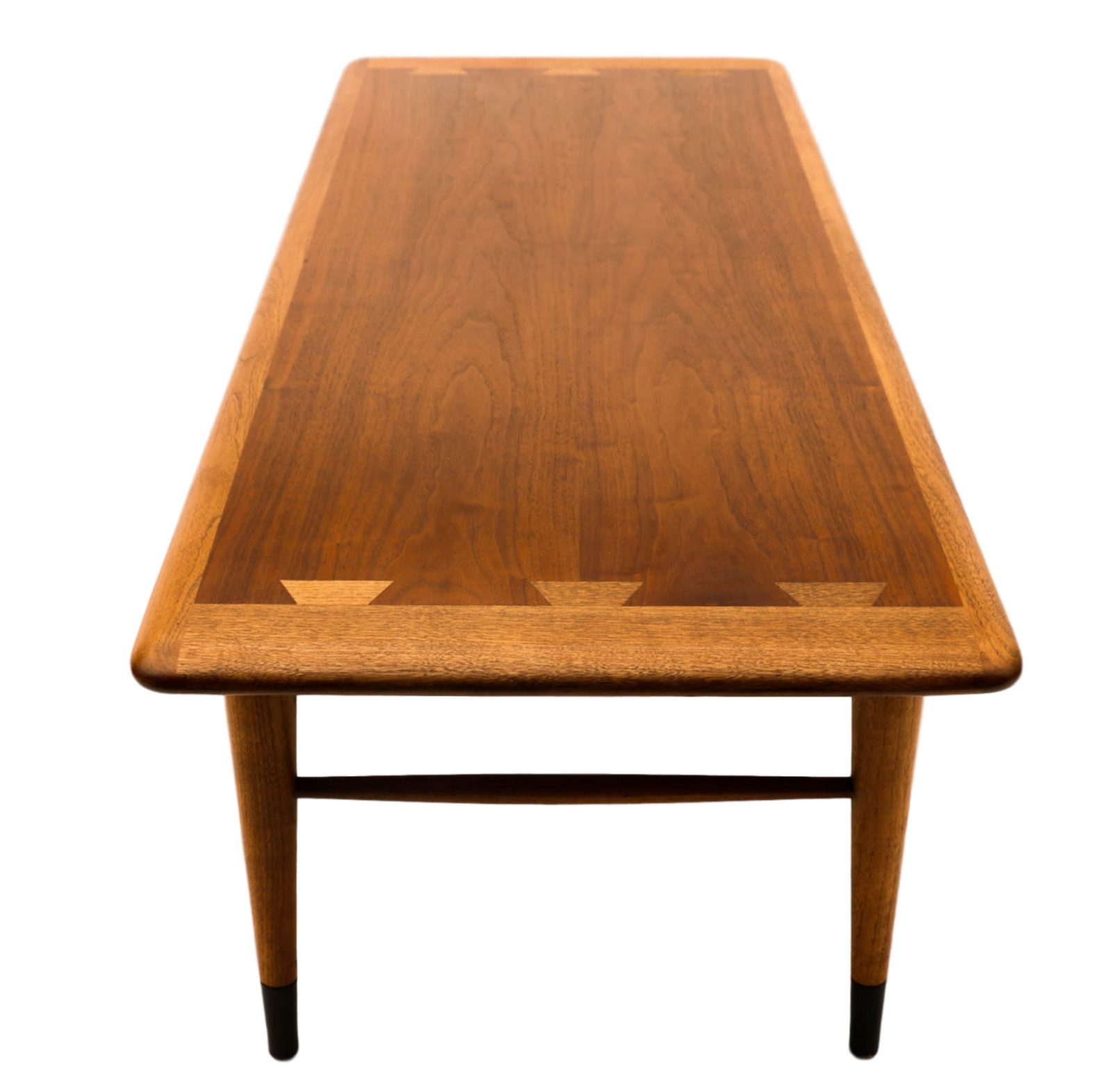Mid Century Lane Copenhagen Drop Leaf Coffee Table: Mid-Century Modern Furniture LANE Coffee Table Inlaid