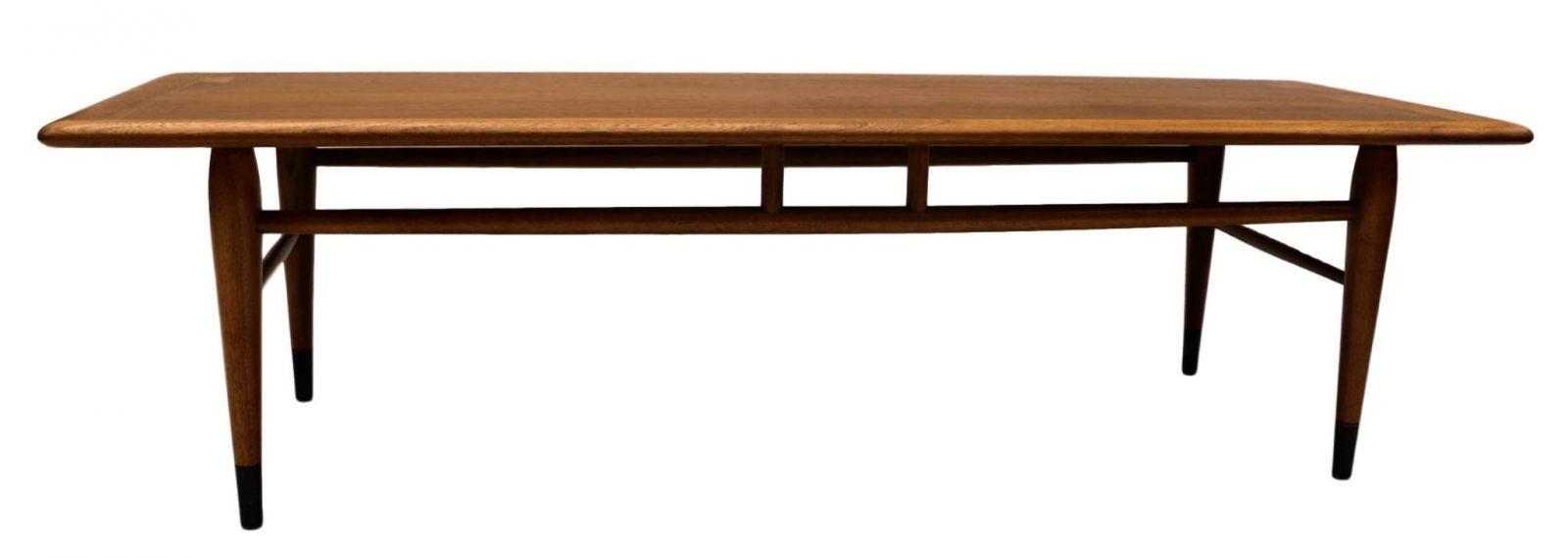Mid Century Modern Dining Room Table Inlaid Walnut
