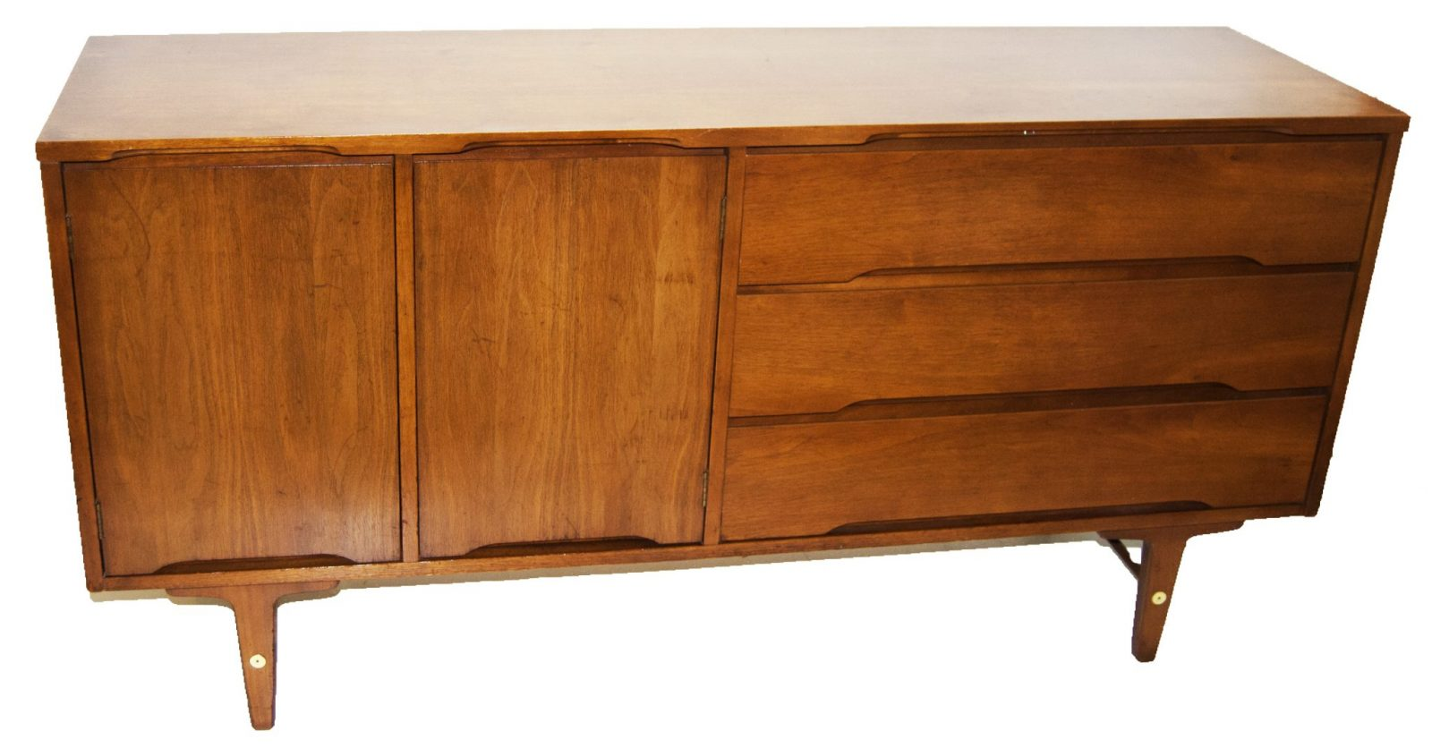 Danish mid century modern sideboard by stanley for Mid century modern danish furniture