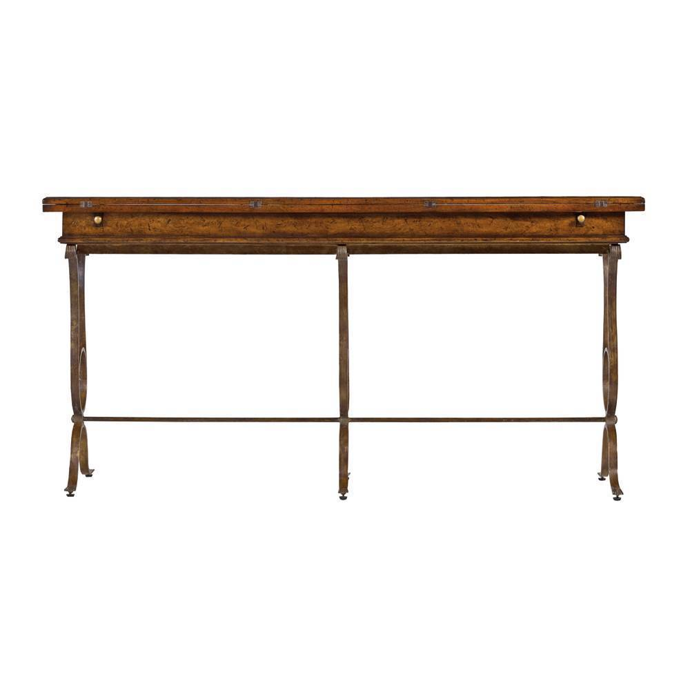 Stanley furniture flip top console table geotapseo Image collections