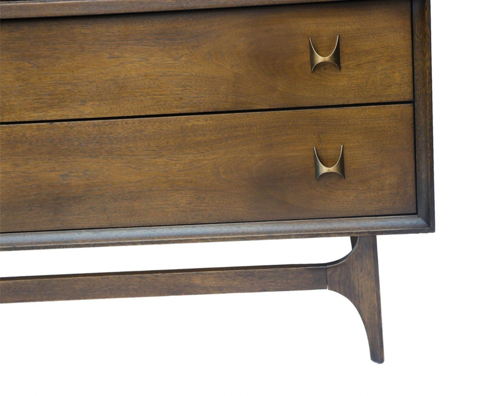 stunning mid century brasilia broyhill highboy dresser chest