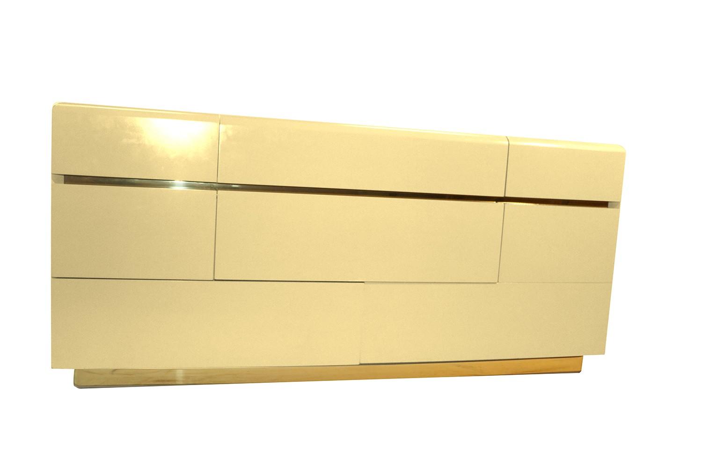 Mid Century Lane 8 Drawer Lacquered Dresser