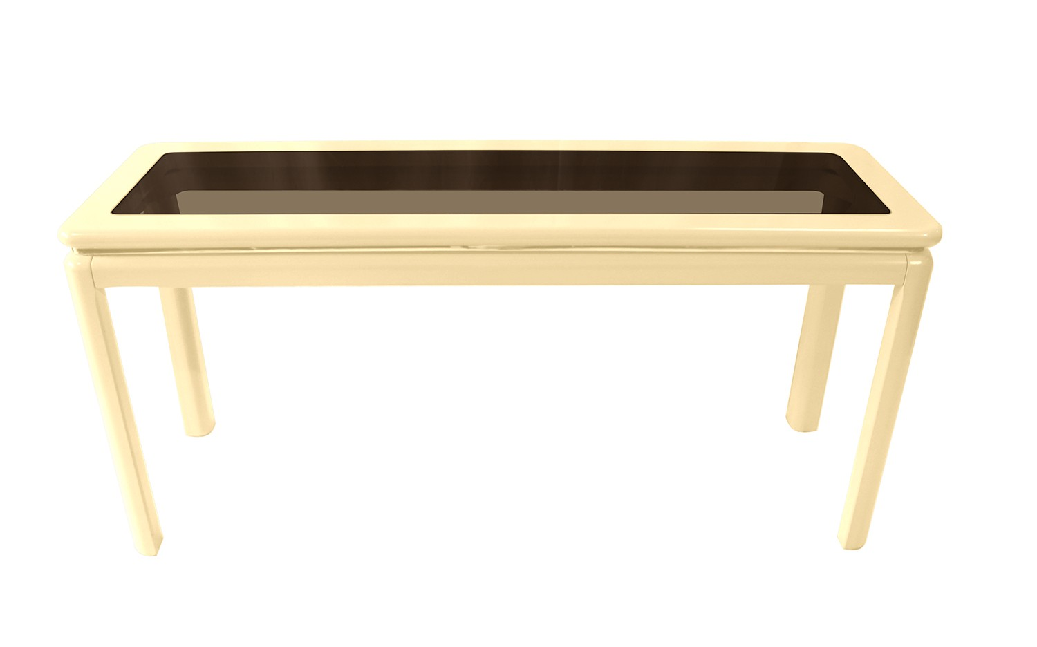 Laquered furniture Diy Reindeer Antiques Mid Century Modern Lacquered Console Table Lane Furniture