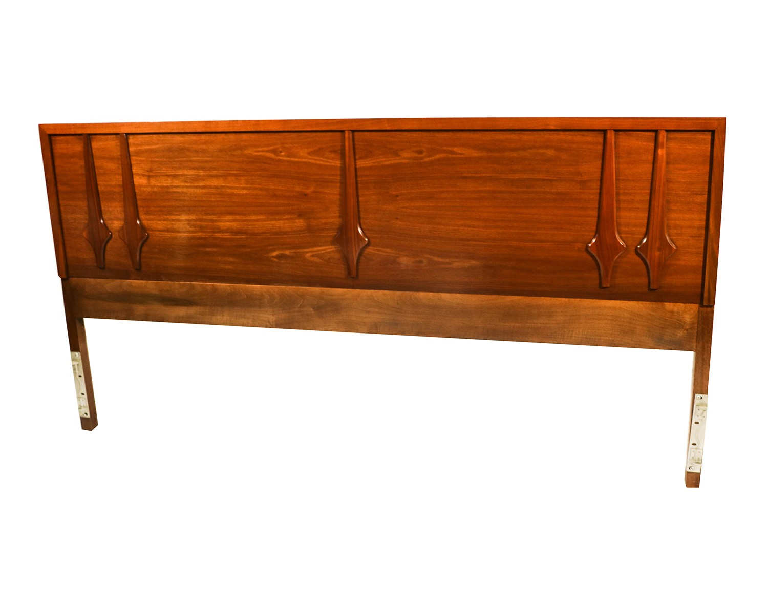 Walnut Mid Century Modern King Headboard