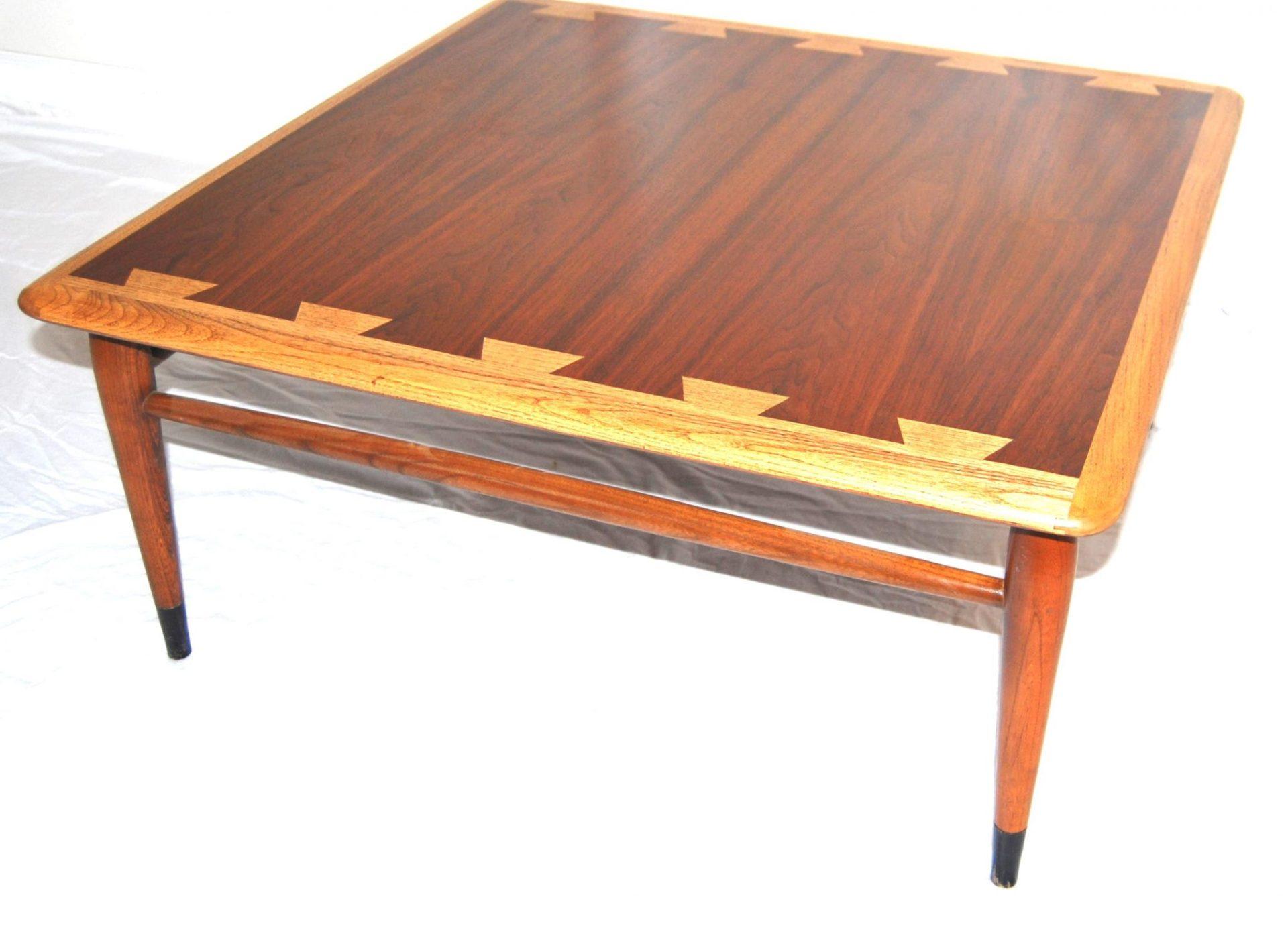 9084c08f4262 Mid Century Modern Lane Acclaim Square Coffee Table -