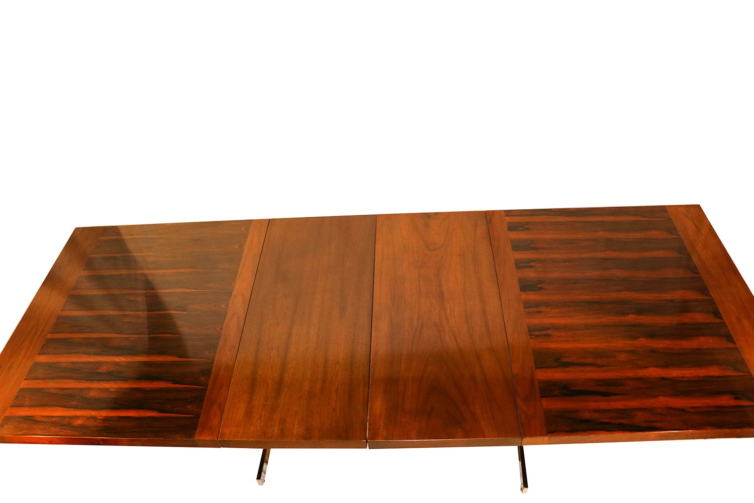 alfred hendrickx belgian mid century rosewood expandable