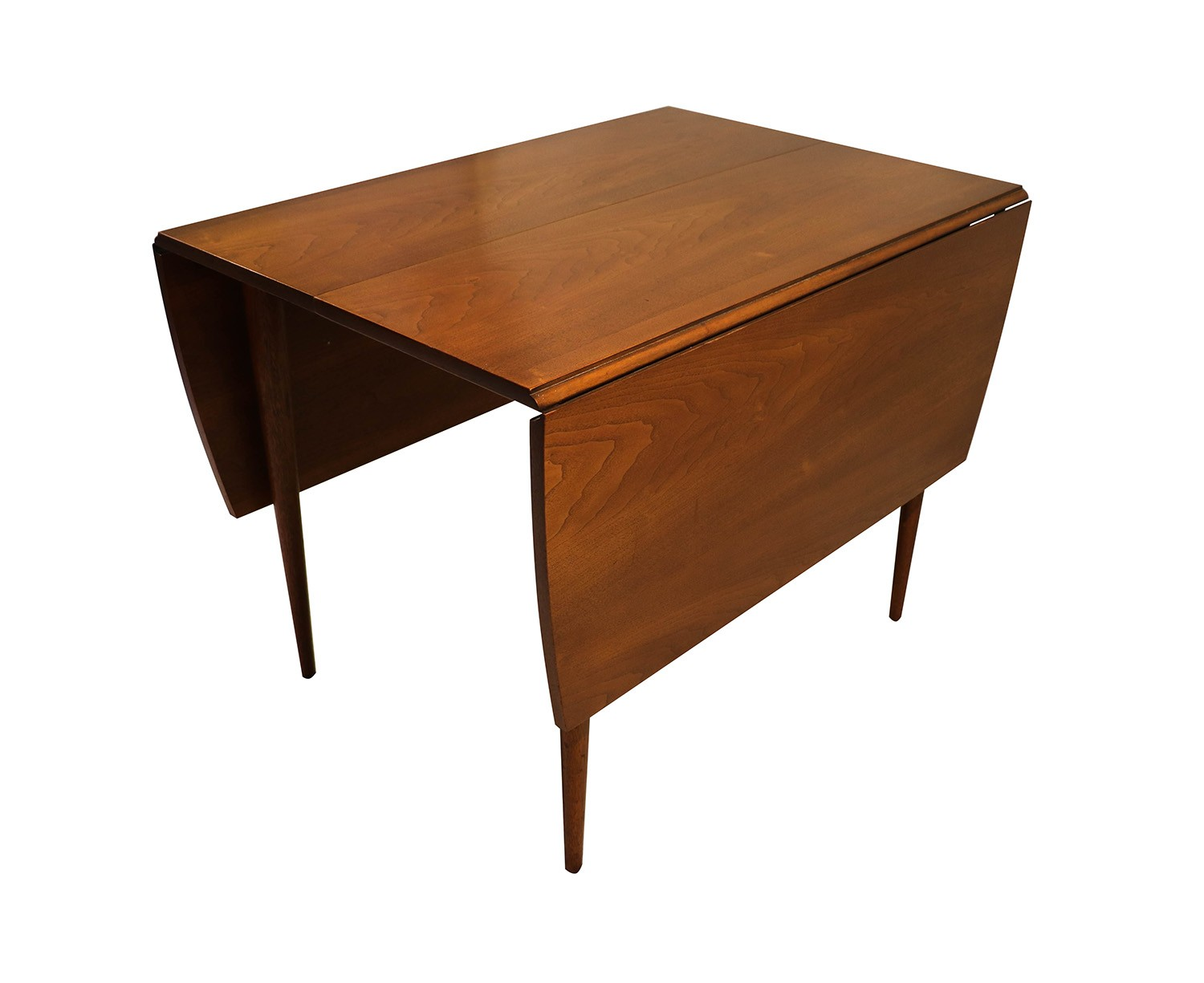 Mid century drop leaf dining table for Drop leaf dining table