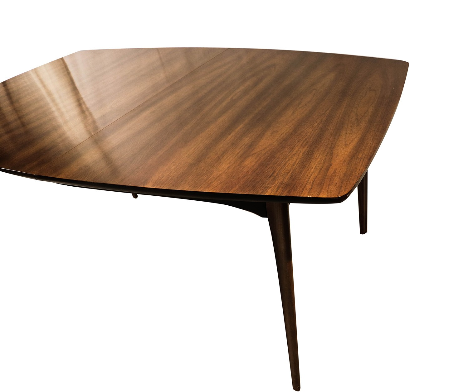 Modern Expandable Dining Table: Mid Century Modern Expandable Dining Table