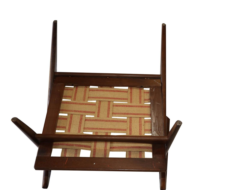 Poul jensen original z lounge chair selig danish mid century for Z chair mid century