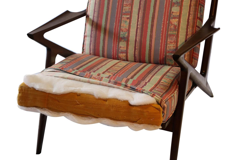Poul jensen original z lounge chair selig danish mid century - Poul jensen z chair ...