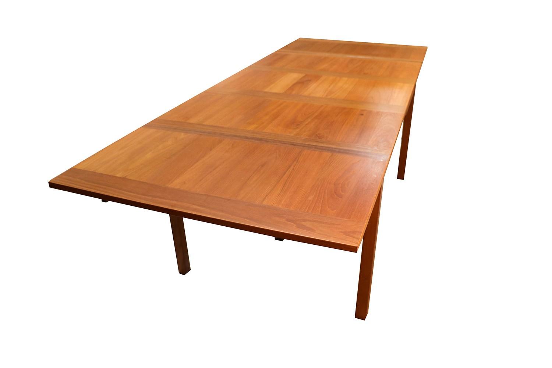 Danish Modern Teak Extendable Dining Table Vejle Stole  : Danish Modern Teak Extendable Dining Table 9 from marykaysfurniture.com size 1500 x 1000 jpeg 127kB