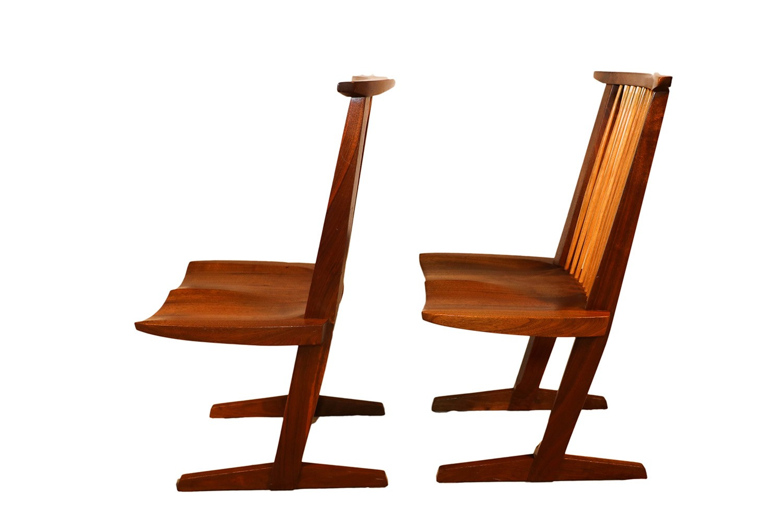 George Nakashima Conoid Chairs