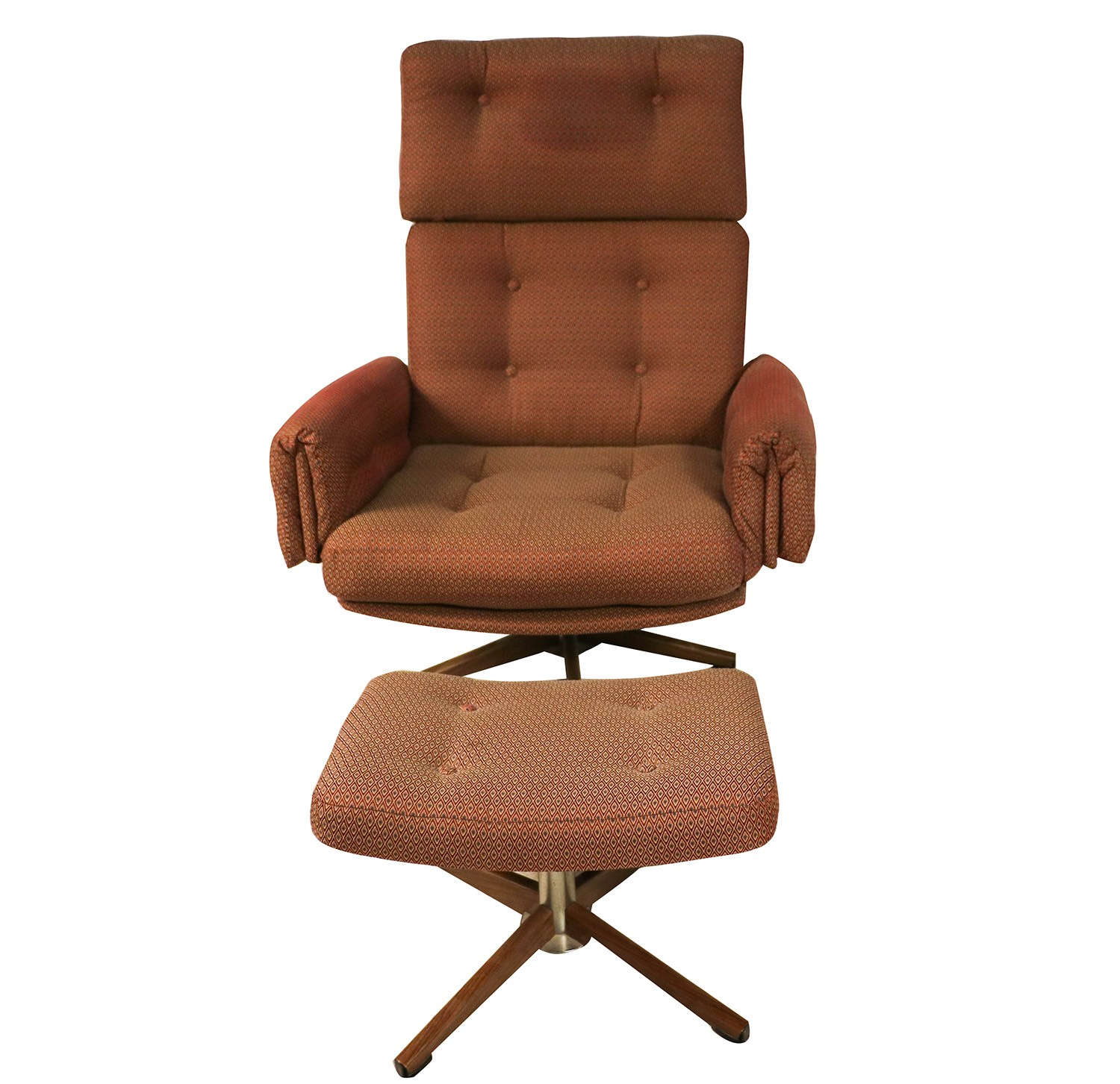 Mid Century Modern Split Level 1956 Edition Better Homes: Mid Century Lounge Chair And Ottoman