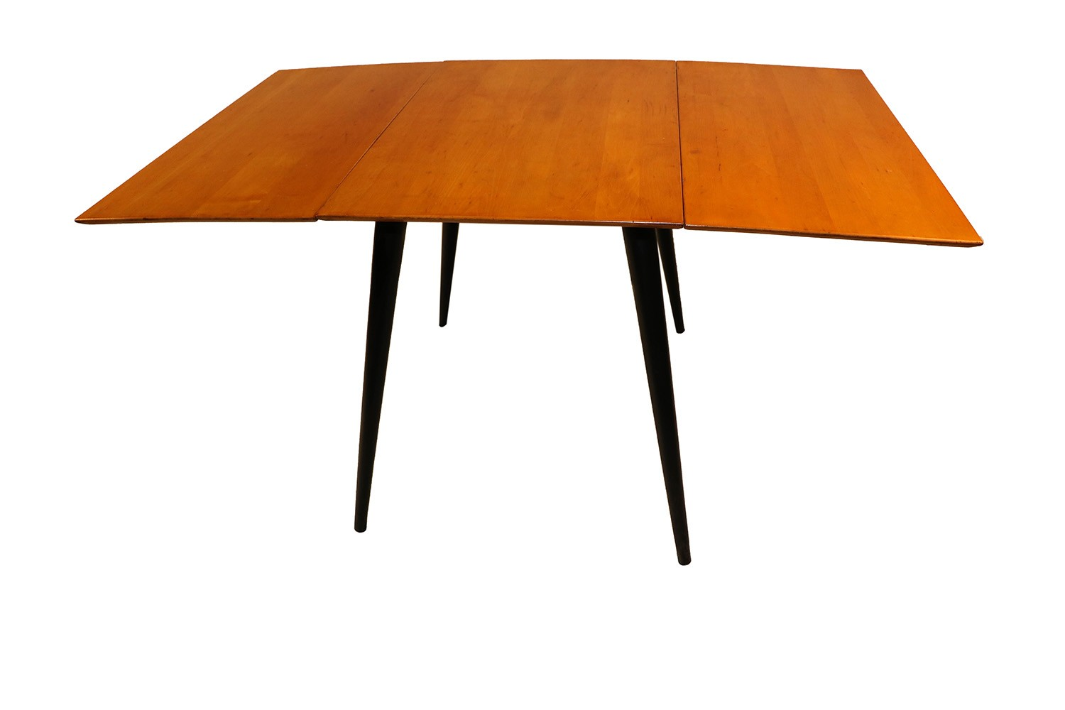 Paul mccobb planner group drop leaf dining table for Drop leaf dining table