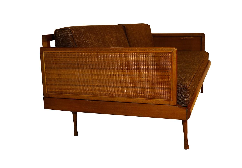 Mid century modern convertible sofa peter hvidt style for Mid century modern style chairs