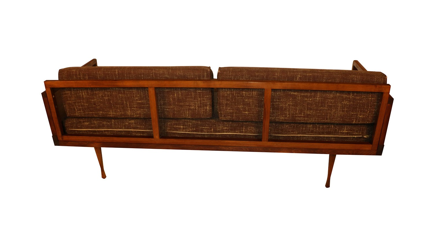 Mid century modern convertible sofa peter hvidt style for Mid century style couch