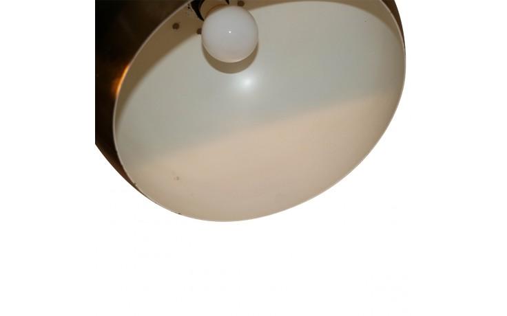 Mid Century Italian Brass Marble Arc Floor Lamp