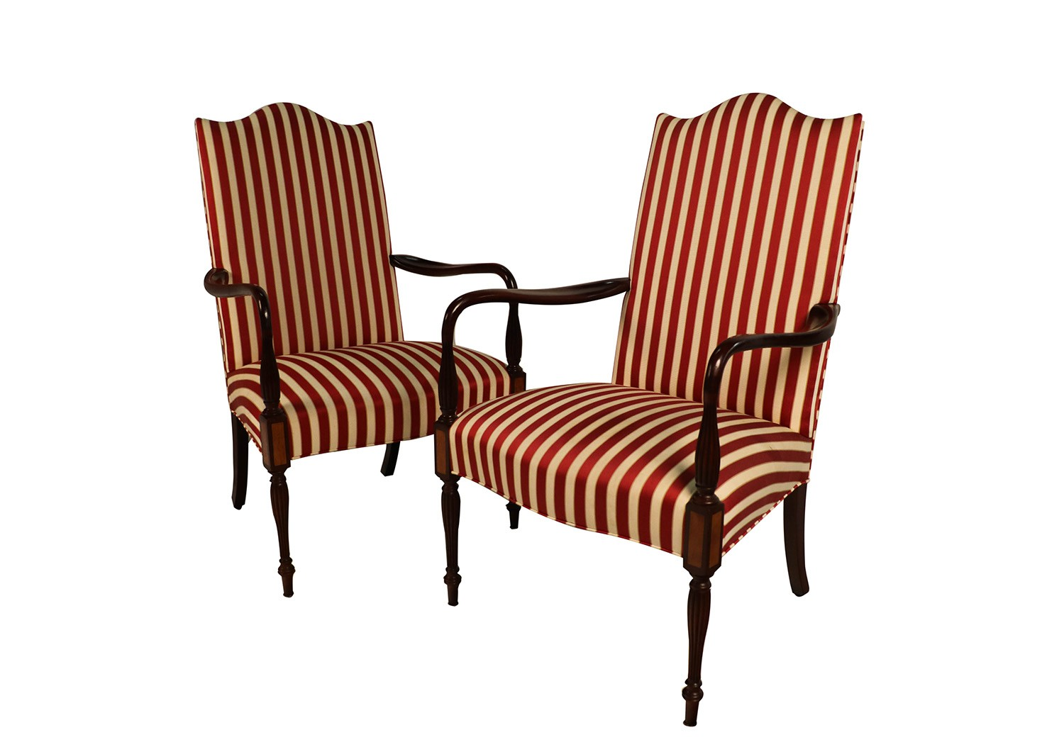 Pair Hickory Chair ...