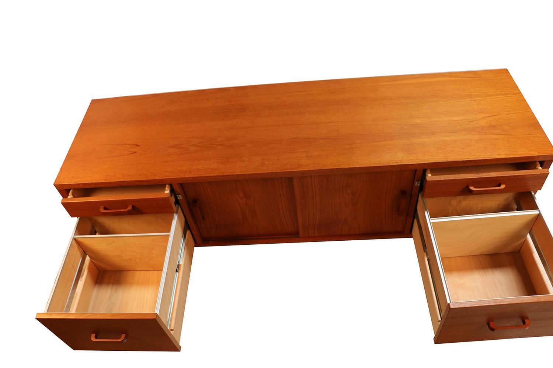Danish Office Credenza : Matching s mid century danish modern bassett dressers credenza