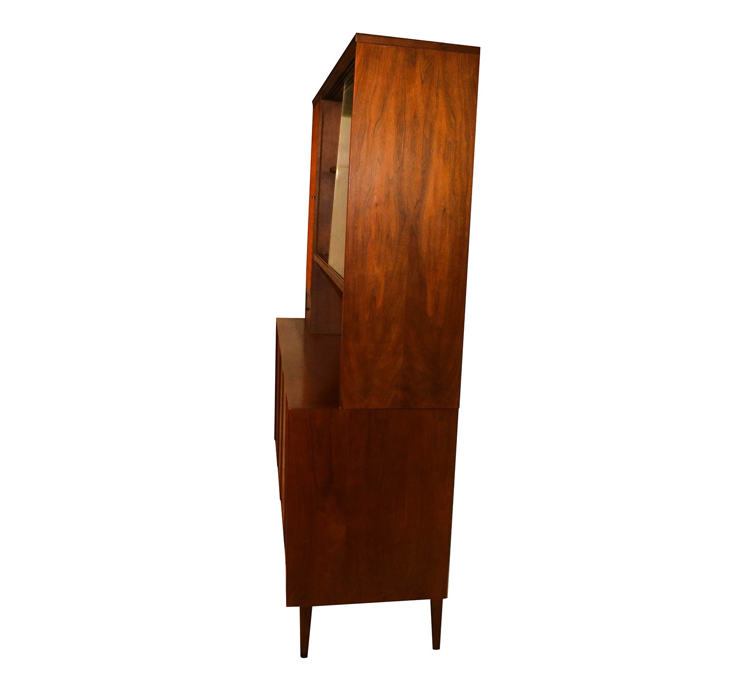 American of martinsville mid century china cabinet hutch for Mid century american furniture