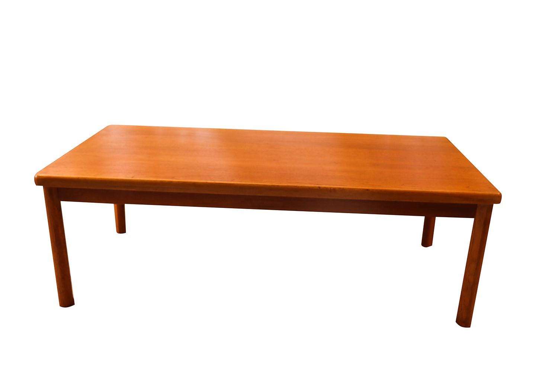 Vejle Stole Mobelfabrik Danish Modern Rectangular Coffee Table