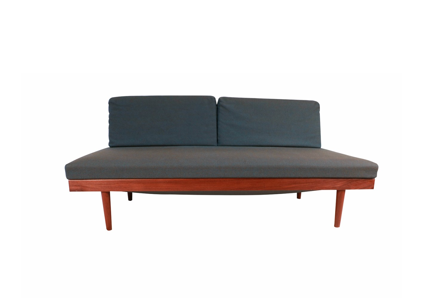 Norwegian Modern Teak Daybed Sofa Pull Out Tables Edvard