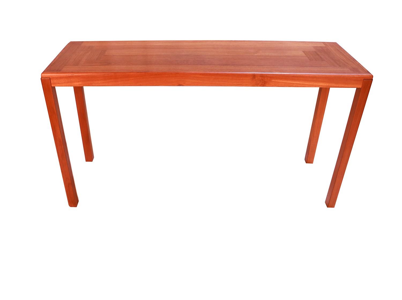 Vejle Stole Møbelfabrik Danish Modern Teak Console Sofa Table