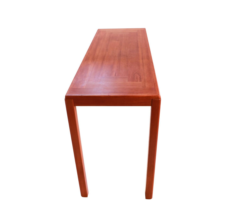 Picture of: Vejle Stole Mobelfabrik Danish Modern Teak Console Sofa Table
