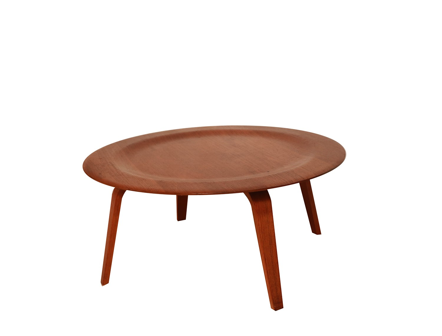 Charles Eames Molded Plywood Ctw Coffee Table For Herman