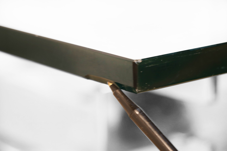 Mid Century Paul Mayen For Habitat Chrome Plated Stacked Glass
