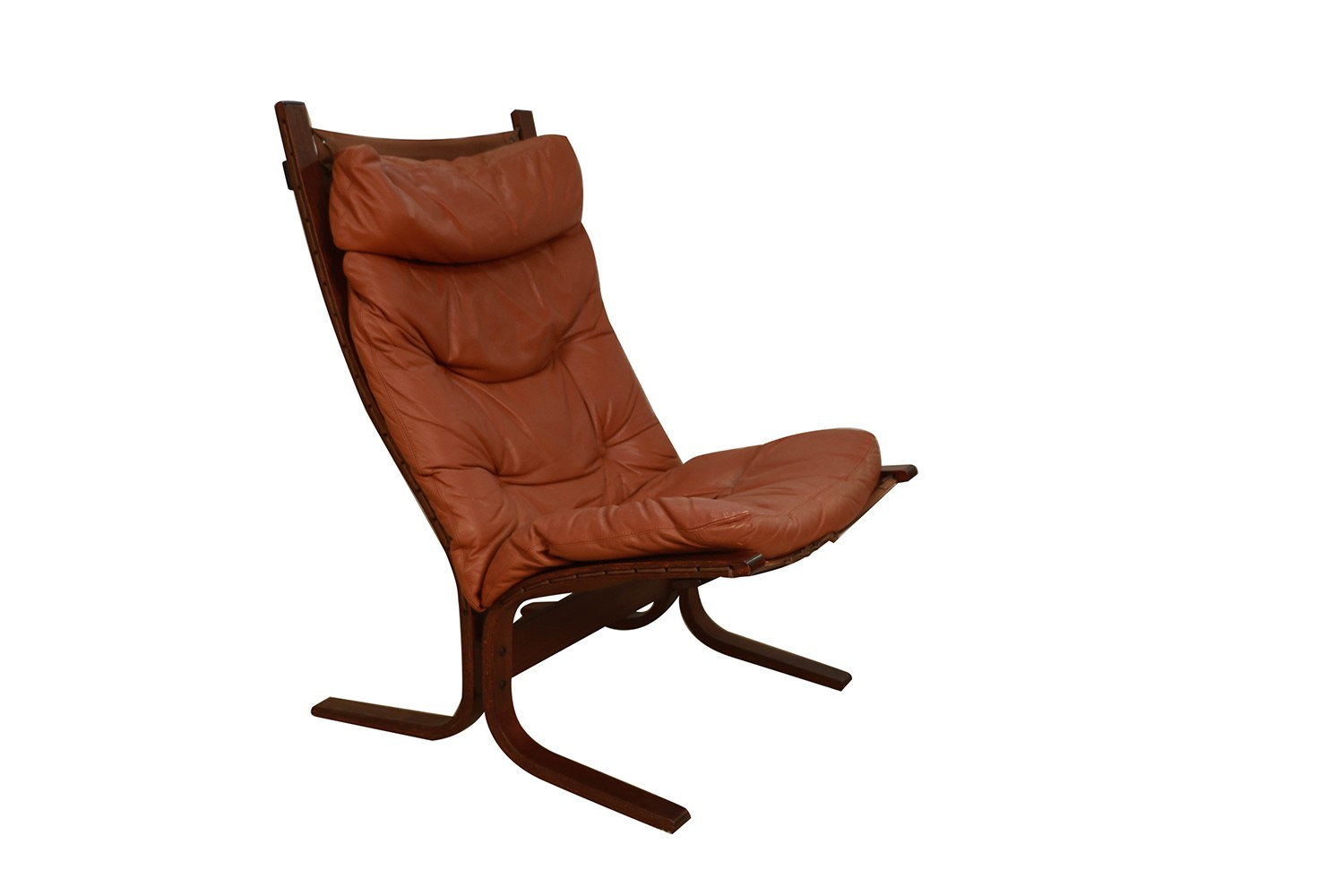 Swell Mid Century Siesta Leather Lounge Chair By Ingmar Relling For Westnofa Gmtry Best Dining Table And Chair Ideas Images Gmtryco