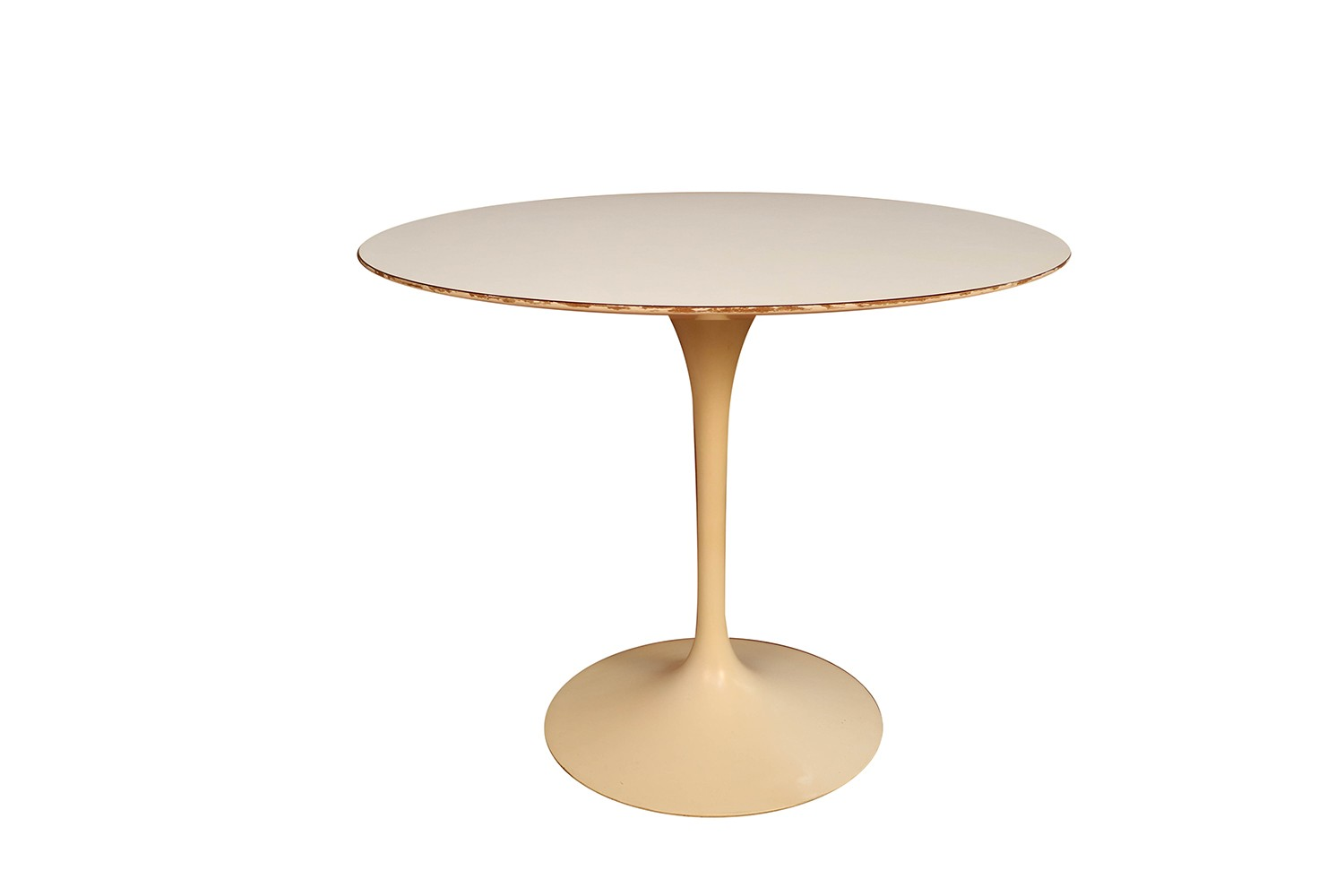 Early Knoll Mid Century Vintage Round Saarinen Tulip Table