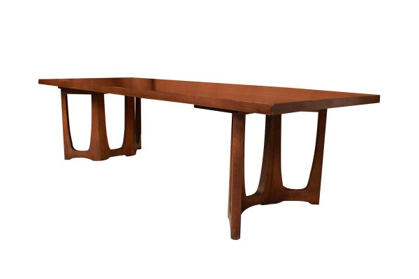 Brilliant Mid Century Broyhill Brasilia Sculpted Coffee Table Uwap Interior Chair Design Uwaporg
