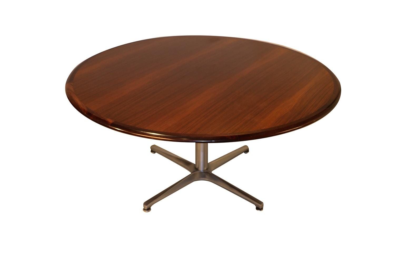 Mid Century Danish Rosewood Coffee Table ...