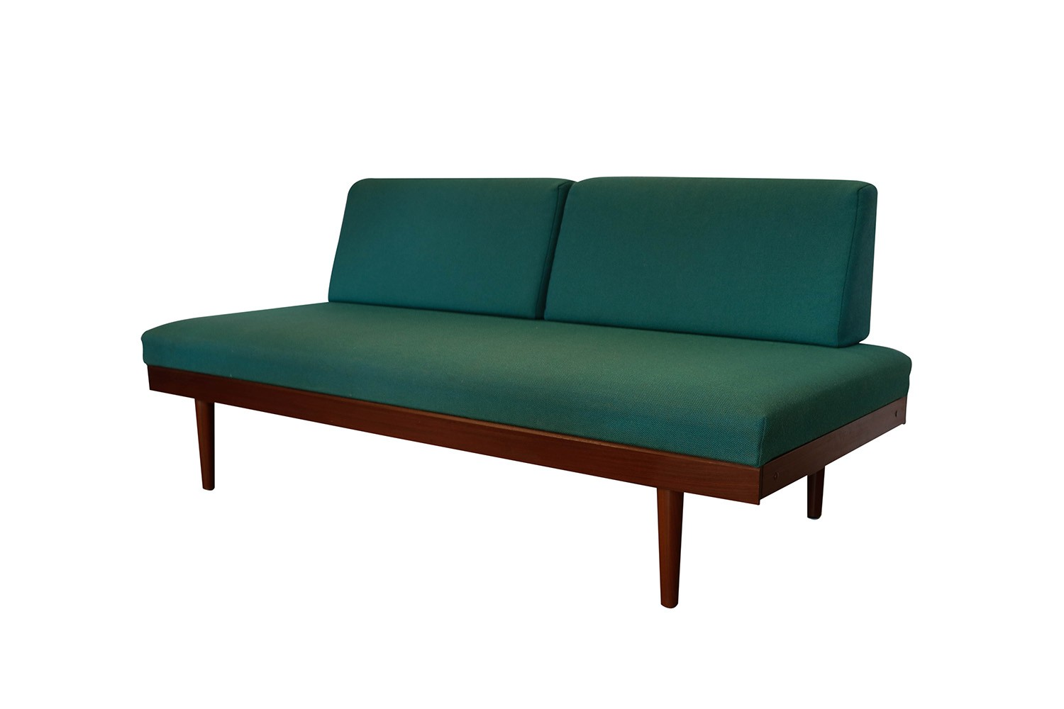 Norwegian Modern Teak Daybed Sofa Pull Out Tables Edvard ...