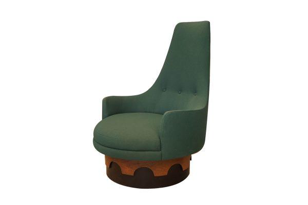 Prime Craft Associates 1960S Adrian Pearsall High Back Swivel Chair Short Links Chair Design For Home Short Linksinfo