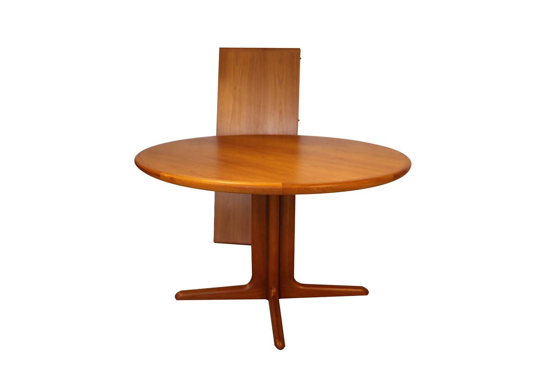 Mid Century Danish Teak Skovby Extendable Dining Table Mary Kay S Furniture