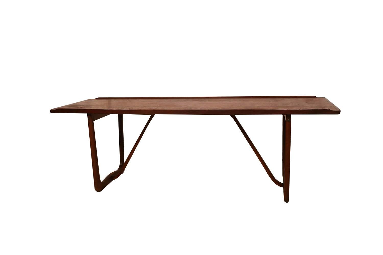 Mid Century Danish Sculptural Coffee Table