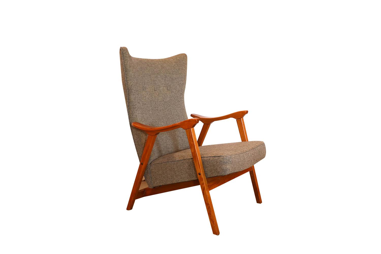 Mid Century Modern Danish Lounge Chair