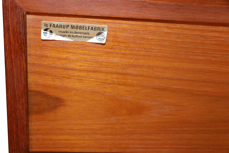 Picture of: Mid Century Ib Kofod Larsen Teak Console Table For Faarup Mobelfabrik