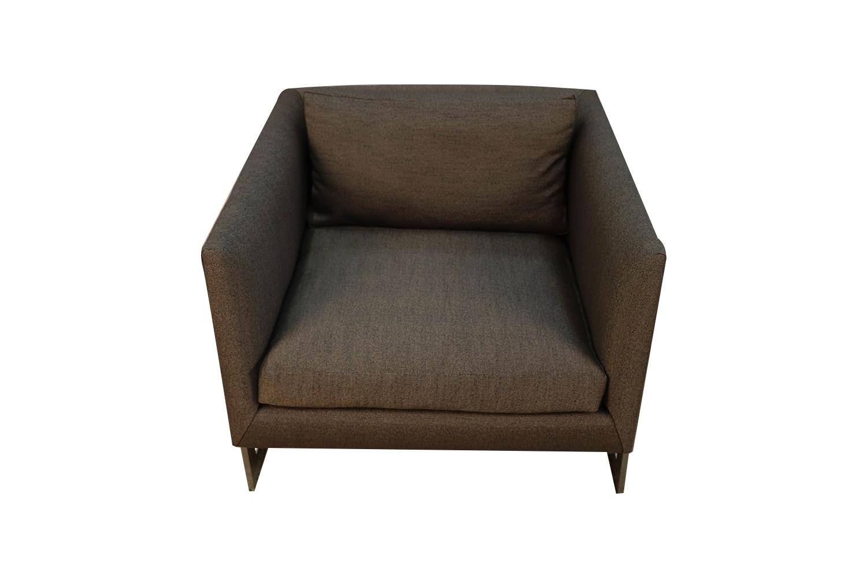 Tremendous Mid Century Milo Baughman Thayer Coggin Chrome T Back Lounge Chair Forskolin Free Trial Chair Design Images Forskolin Free Trialorg