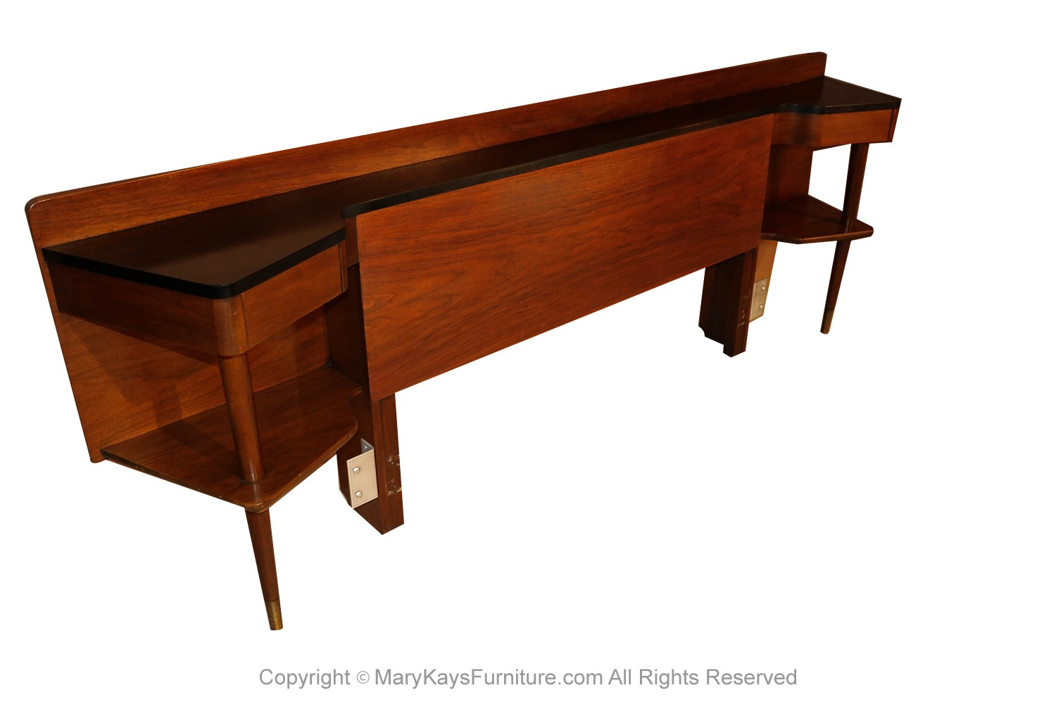 Image of: American Of Martinsville Mid Century Modern Queen Headboard