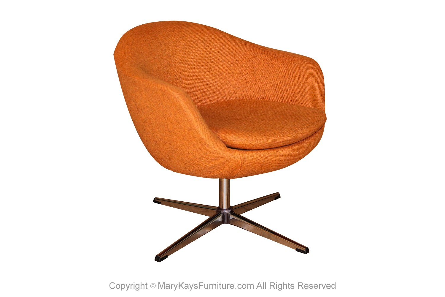 Image of: Mid Century Overman Carl Eric Klote Swedish Swivel Chair
